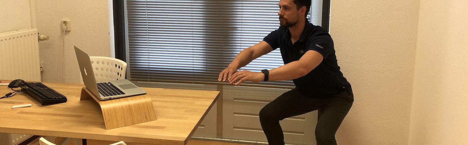 De fysiotherapeut online bij u in de huiskamer